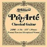 D'Addario J4505 Pro Arte Einzelsaite Classic Nylon, 0,089 cm (0,035 Zoll), A-5th
