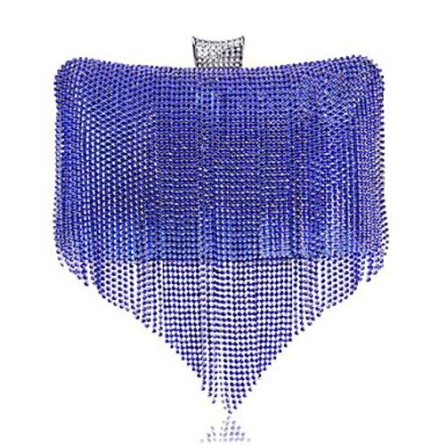 KYS Damen Polyester Formell / Alltag / Veranstaltung / Fest / Hochzeit / Büro & Karriere AbendtascheBlau / Gold / Rot / Silber / Schwarz / Blue