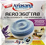 12x Ariasana Aero 360Feuchtigkeitsabsorber ° Ladekabel Lavendel 450gr.