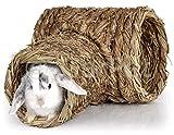 Natur Gras Heu Stroh Nager Meerschweinchen Kaninchen Hamster Tunnel Haus Nest Höhle Maus (06171)