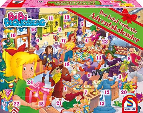 Schmidt Spiele 40590 Bibi Blocksberg Adventskalender 2018 (Adventskalender Für Kinder)