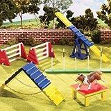 Breyer B1509Dog Agility Animal Play Set