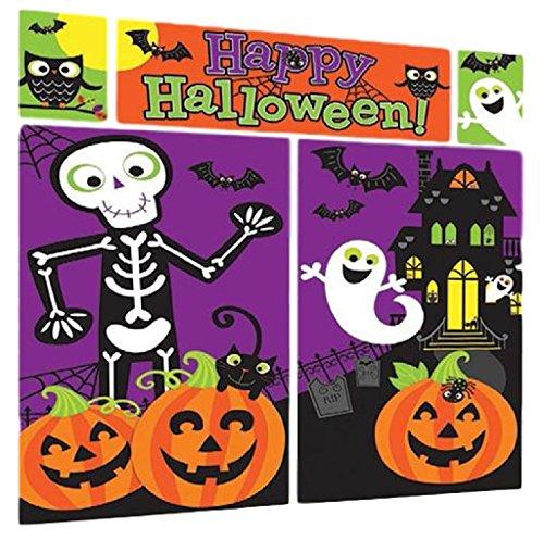 Fancy Me Große Foto Hintergrund Halloween Spooky Dekoration Selfie Szene Station Setter Party Wand Dekoration