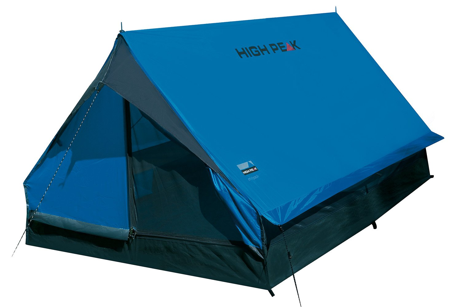 High Peak Unisex's Minipack Tents, Blue/Grey, One Size 1