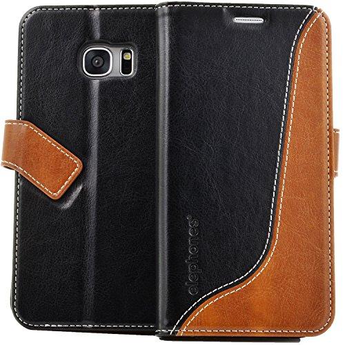 elephones-Hlle-fr-Samsung-Galaxy-S7-Handyhlle-Cover-Handytasche-Flip-Case-Tasche-Schutzhlle-mit-Kartenfcher-Standfunktion-Geldscheinfach