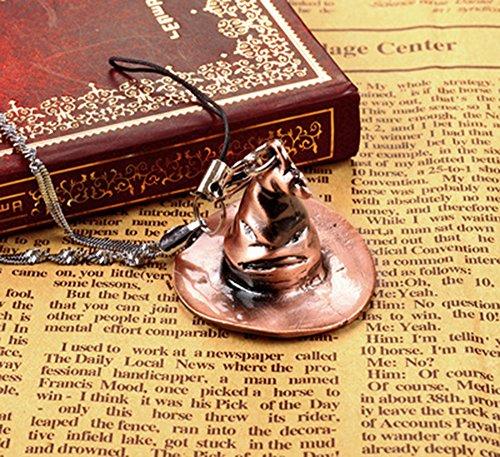 Senzans Harry Potter Gryffindor Sortierung Har-Hut-Anh?nger-Halskette Keyhain Geschenk Mobile Kette