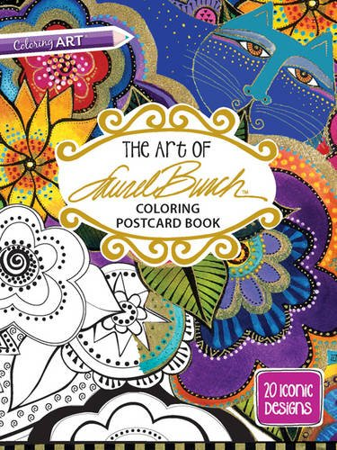 the-art-of-laurel-burch-coloring-postcard-book-20-iconic-designs