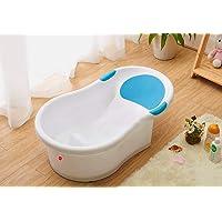KAMYA Newborn Baby Anti-Slip Portable Bathtub (Blue)