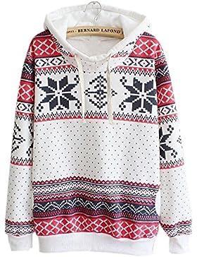 Yumimi88 Familie Kleidung Langarmshirts Kleinkind Kinder Baby Mädchen Damen Kapuzenpullover Streifen Hoodie Sweatshirt...