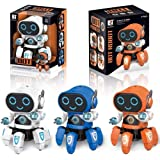 Amisha Gift Gallery® Bot Robot Octopus Shape Dancing with 3D Light Electric Robot Colorful Music Flashing Lights Dance…