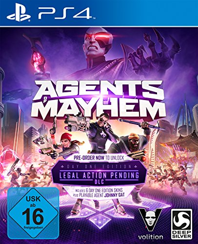 Agents of Mayhem - Day One Edition - [PlayStation 4]