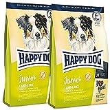 Happy Dog 2 x 10 kg Supreme Junior Lamb & Rice (Lamm & Reis)