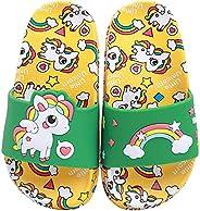 HausFine Ciabatte da Doccia Scarpe da Spiaggia e Piscina Unicorno Bambini Pantofole da Bagno Ragazzi e Ragazze