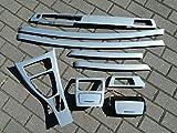 Dekorleisten Interieurleisten Alu gebürstet Folien Set passend für BMW E92 E93