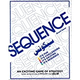 US1984 2018 Sequence Game, Sequence Card Board Games For Kids/Adults, Sequence Game Family Card Board Game, Suitable For 2-12 Players Family Game