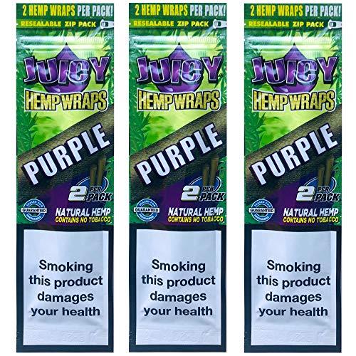 Octopuff Juicy Jay Hemp Wrap - Purple - Hemp Wraps (3)