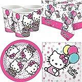 Hello Kitty Neu Entwurf 2016 Partygeschirr Pack für 8