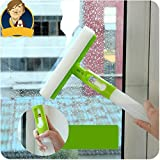 #1: Shopo's Multi Purpose 3 in 1 Window Glass Cleaner Spray Water Two Side Brush Wiper Squeegee