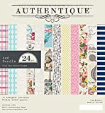 "Authentique Double-Sided Cardstock Pad 6""X6"" 24/pkg-Dame"