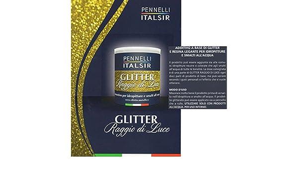 Pareti Glitterate Fai Da Te : Additivo glitter per pittura glitter in gel liquido da