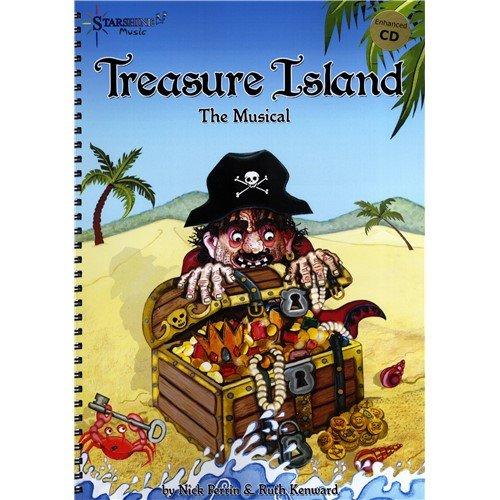 Ruth Kenward/Nick Perrin: Treasure Island-The Musical. Partitionen, CD für Klavier, Gesang und Gitarre