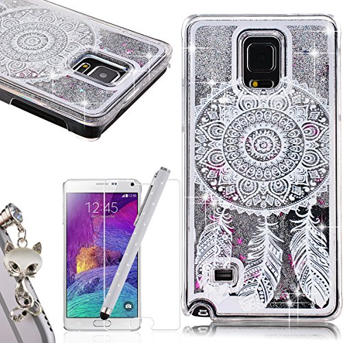 we-love-case-for-galaxy-note-4-case-clear-bling-cover-pc-hard-plastic-case-with-white-floral-paisley
