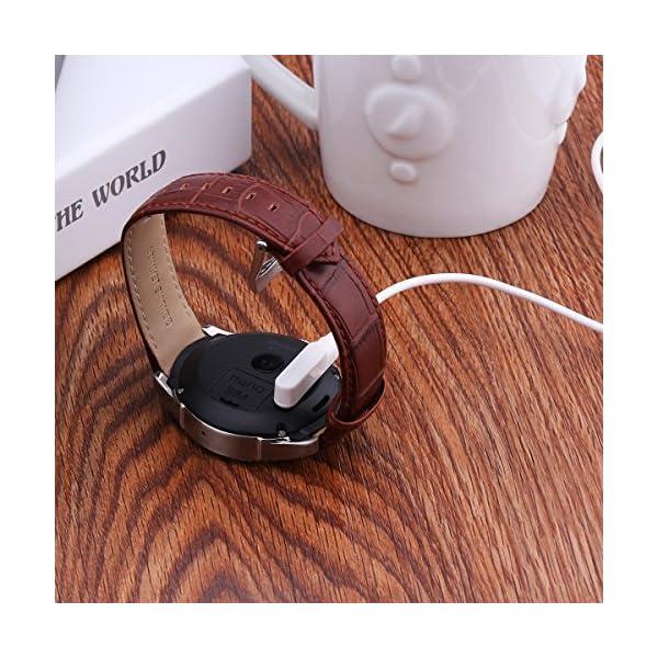 TiooDre Cable de cargador para reloj inteligente, cable de cargador magnético, cargador magnético USB 2.0 a 4 pines para Smartwatch GT88, GT68, KW08, KW18, KW88, KW98, KW99, KW28, FS08, GV68, KW06 4