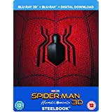 Spider-Man Homecoming 3D (Includes 2D Version) - Limited Edition Steelbook + Resin Magnet + Comic Book Blu-ray