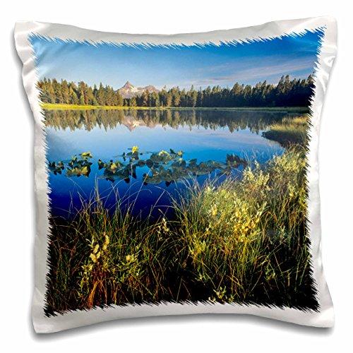 Danita Delimont - Wyoming - Pilot and Index Peaks, Mud Lake, Shoshone, Wyoming - US51 CHA0102 - Chuck Haney - 16x16 inch Pillow Case (pc_97272_1)