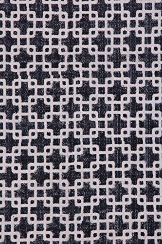 Tappeto in cotone stampato a mano 2x