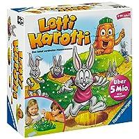 Ravensburger-21556-Lotti-Karotti Ravensburger Kinderspiele 21556 –  Lotti Karotti 21556 – Spiel für Kinder ab 4 Jahren -