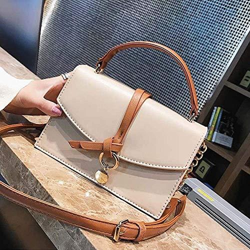 NCCDY Mode Frauen Taschen Crossbody Kettengurte Messenger Schultertasche Handtasche Leder Handytasche (Color : C)