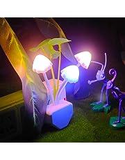 ascension Mushroom LED Colour Changing Lamp (Multicolour)