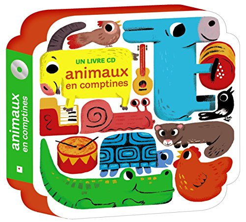 Animaux en comptines + CD