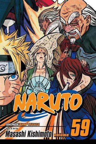 Naruto, Vol. 59: The Five Kage (Naruto Graphic Novel ...