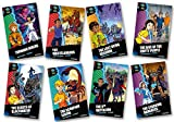 Project X Alien Adventures: Dark Red + Book Band, Oxford Levels 19-20: Dark Red + Book Band, Mixed Pack of 8