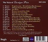 The Voice of Leontyne Price.
