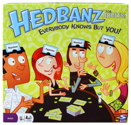 [UK-Import]Hedbanz for Adults Game