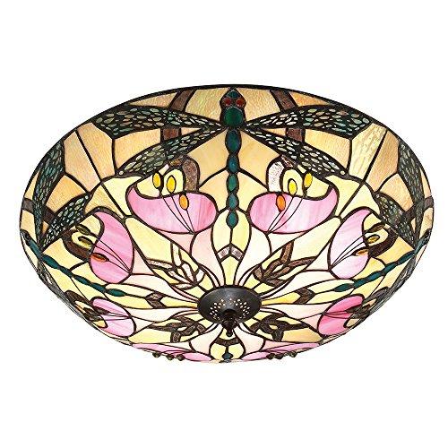 Ashton grande stile Tiffany Due le lampade a filo soffitto - Interiors 1900 63922