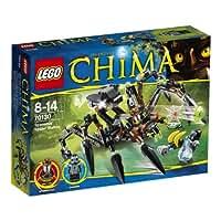 Lego Legends of Chima 70130 - Sparratus Spinnen-Stalker