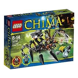Lego-Legends-of-Chima-70130-Sparratus-Spinnen-Stalker