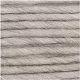 Rico Essentials Super Chunky Fb. 25 – natur, weiche Wolle Nadelstärke 10 mm, Schnellstrickwolle