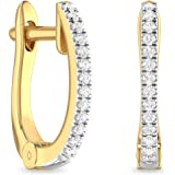 PC Jeweller The Balduin 18KT Yellow Gold and Diamond Stud Earrings for Women