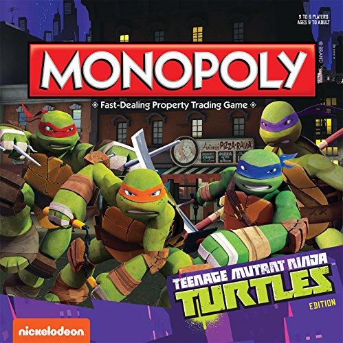 Teenage Mutant Ninja Turtles Monopoly Board Game