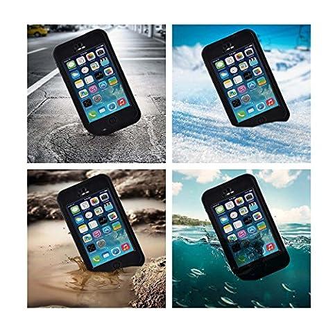 Voguecase® pour Apple iPhone 5C, coque etanche case étanche/ imperméable