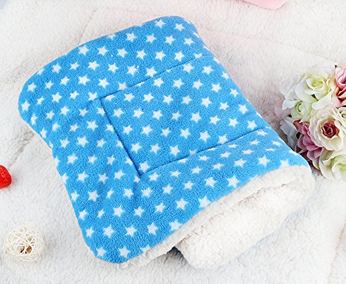 Micat® Super Soft Fleece Pet Bed Blankets Puppy Dog Cat Cushion Mats Vary from 9 Kinds of Designs (M: 55*42cm, 009) 3