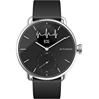 Withings Scanwatch 38 mm Nero, Hybrid Smart Watch with ECG, Heart Rate Sensor And Oximeter, SpO2, Sleep Tracking Unisex…