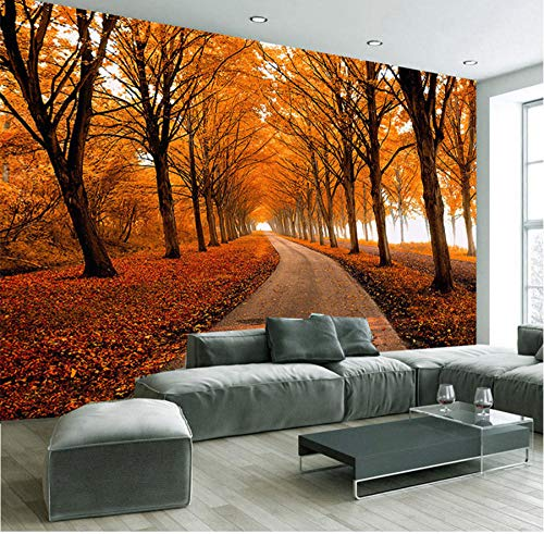 2017 ultima natura paesaggio foto carta da parati autunno acero boschi 3d stereo espansione dello spazio murale ristorante intestazione decorazione della casa