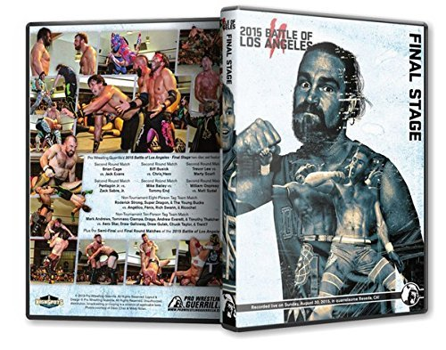 Official Pro Wrestling Guerrilla PWG - Battle of Los Angeles BOLA 2015 Final Stage Event DVD