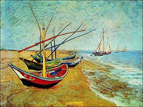 Migneco & Smith GOG Van Strandboot im Offsetdruck auf Papier Gr. cm.80 300 x 60 cm